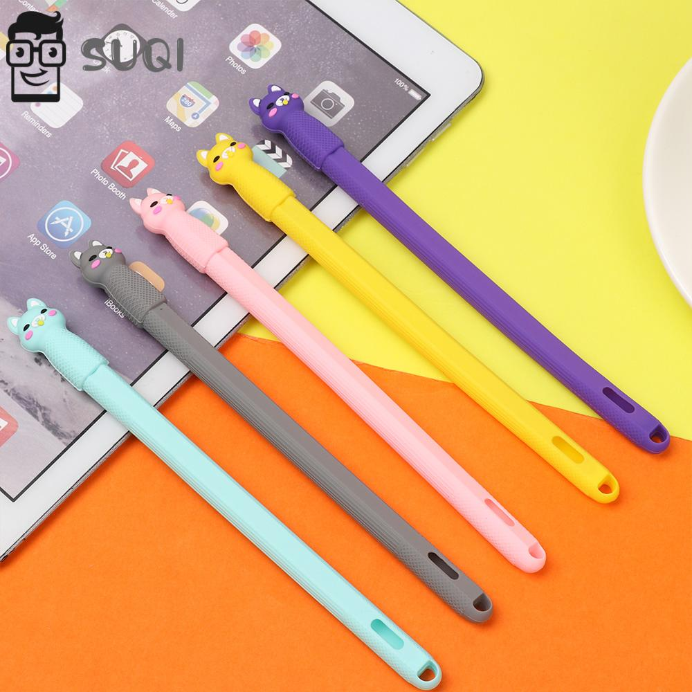 SUQI Soft Silicone Cartoon Case Protective Cover For Apple Pencil 2nd Generation