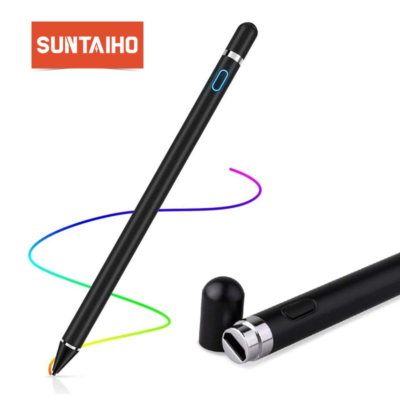 ปากกาทัชสกรีน Universal Stylus สําหรับ Apple Ipad Pro Air 2 3 Mini 4 Stylus Tablet Ios / Android Phone 1 Gen Pencil