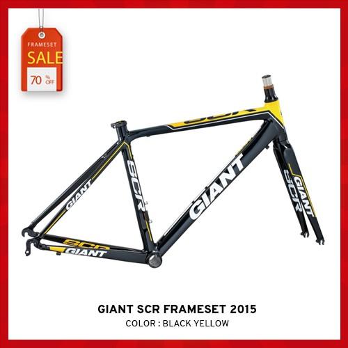 เฟรม GIANT SCR FRAMESET 2015 สีดำ - เหลือง
