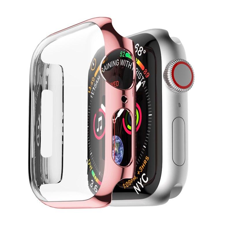 Pc ฝาครอบกันรอยหน้าจอสําหรับ Apple Watch Band 5 4 3 Band 42 มม . 44 มม . 38 มม . 40 มม . Series 5 4 3