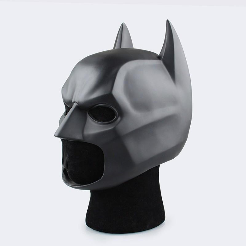 ☘️ashleg☘️1:1 Flexible PVC Batman Helmet Cosplay Costume Accessories