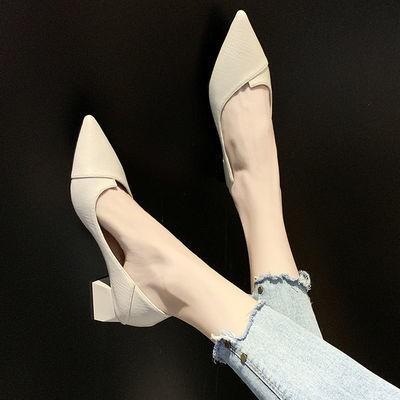 รองเท้าคัชชู bata รองเท้า shuberry รองเท้าส้นตึก (มีสินค้า) 🍁🍁รองเท้าทำงานหนังนิ่มใส่สบายมืออาชีพรองเท้าผู้หญิงสองสวมก