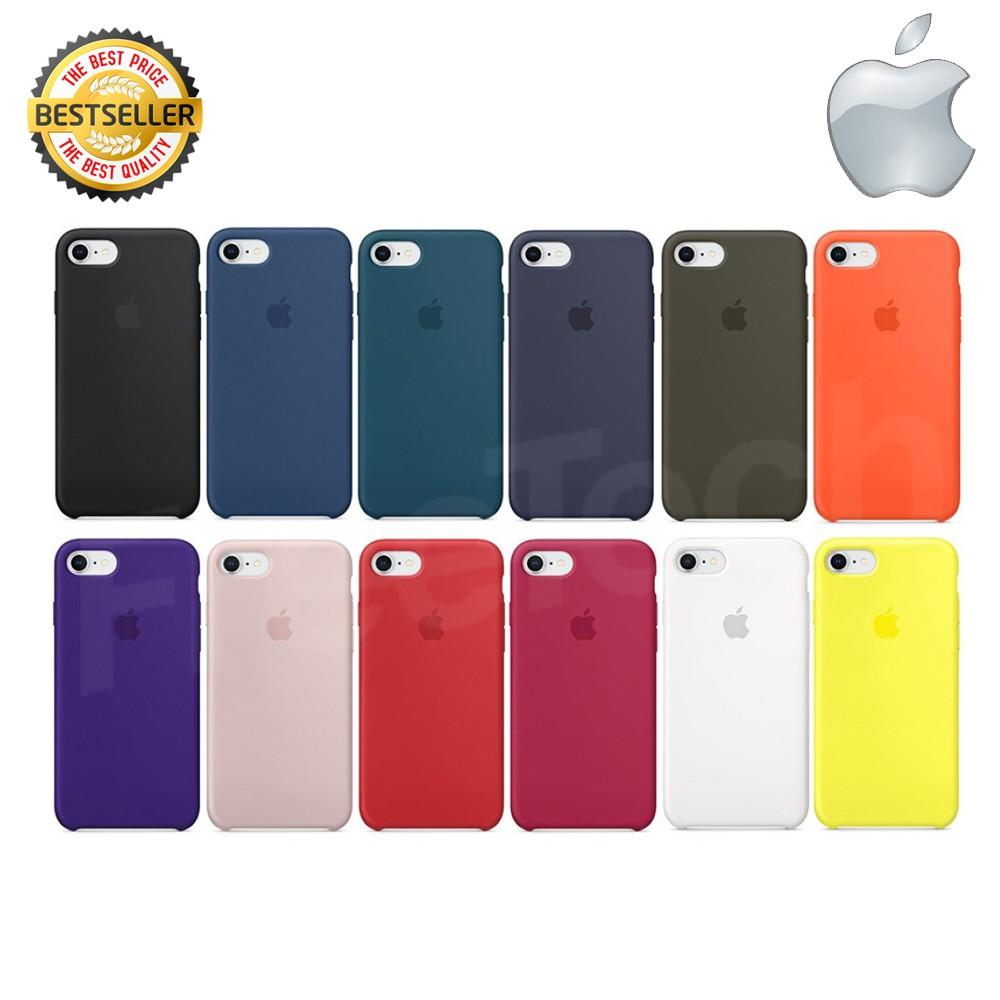 Apple Silicone Case Iphone 8 iphone 7s ซิลิโคน เคส ของแท้ 100%
