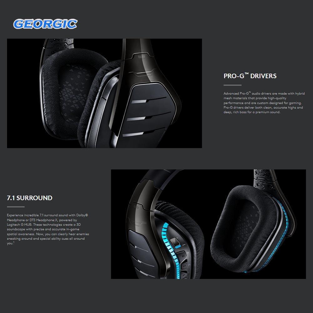 New Logitech G633 ARTEMIS SPECTRUM 7 1 Surround Headphones Wired