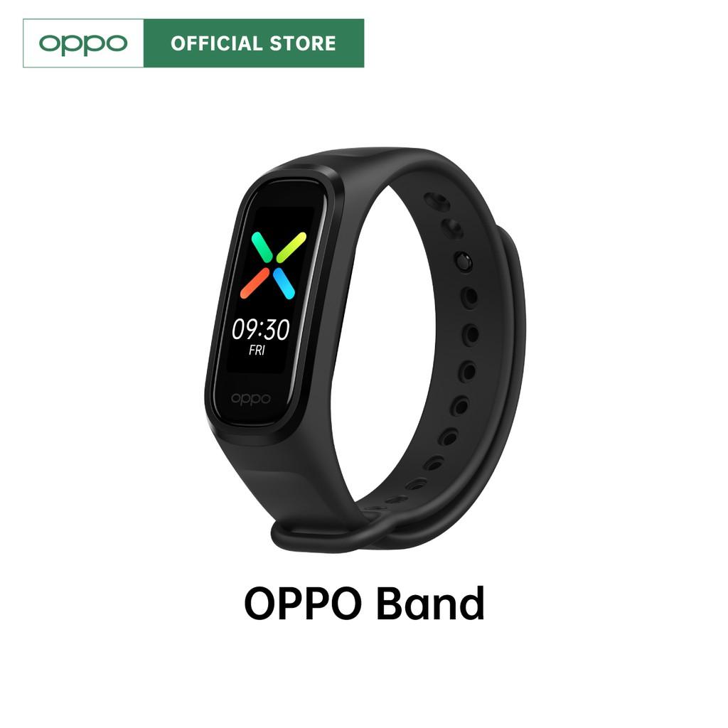 [New] OPPO Band สายรัดข้อมืออัจฉริยะ หน้าจอ 1.1 นิ้ว 16 MB พร้อมของแถม รับประกัน 12 เดือน