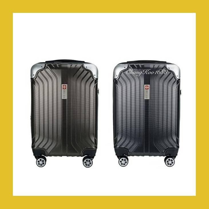 กระเป๋าเดินทาง กระเป๋าเดินทาง 20 นิ้ว กระเป๋าเดินทางล้อลาก SWISSGEARรุ่น KW-199 ขนาด20.24.28นิ้วของแท้%