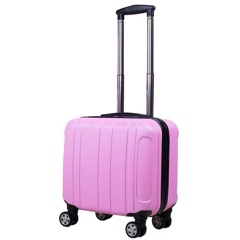 ซื้อเคสรถเข็นเด็กเวอร์ชั่นเกาหลี 1 แถม 10 กระเป๋าเดินทางใบเล็กหญิง 18 นิ้ว 16 นิ้วกระเป๋าเดินทางมินิชาย
