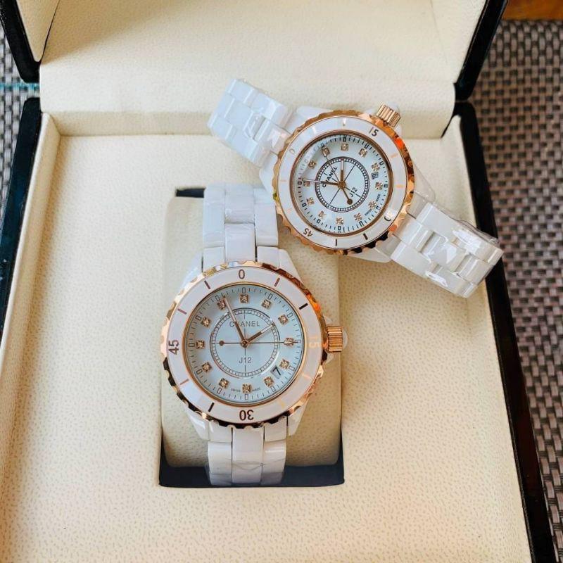 Chanel watchJ12 White Original