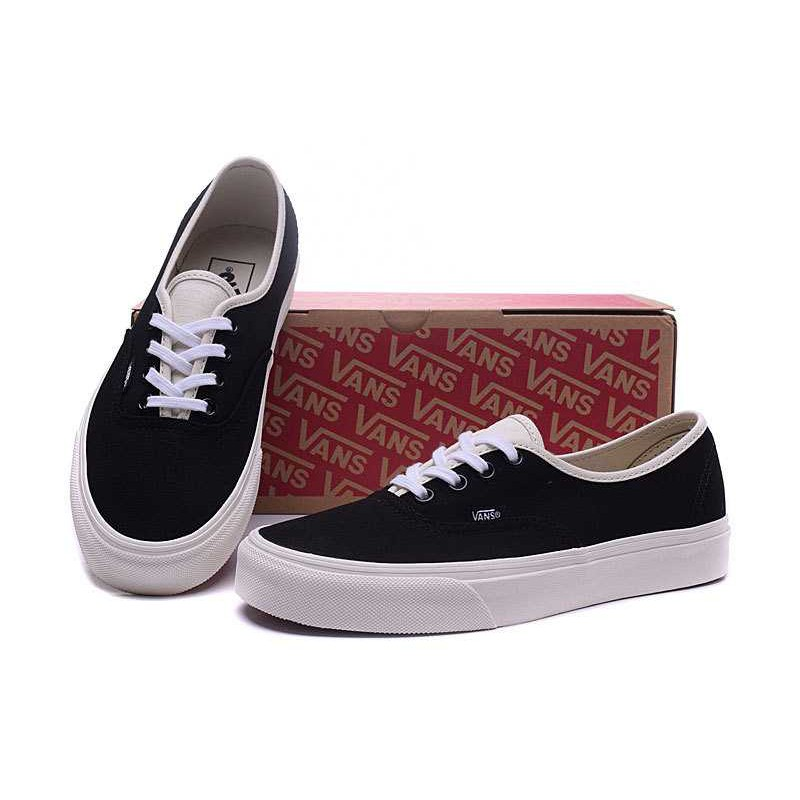 Classic Vans Men's And Women's Low-top Skateboarding Shoes Van canvas Casual Shoes Sneakers Color: Black | Shopee Thailand