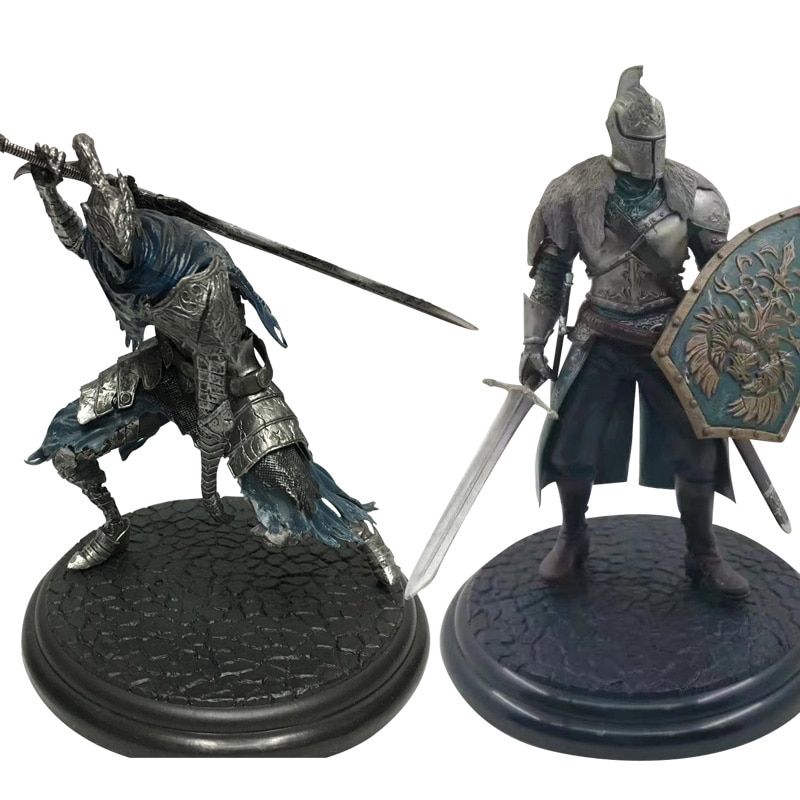 18cm Dark Souls Faraam Knight Action Figure Toy Black Knight PVC Figure Toy Game Collection Model Doll Children Gifts 2