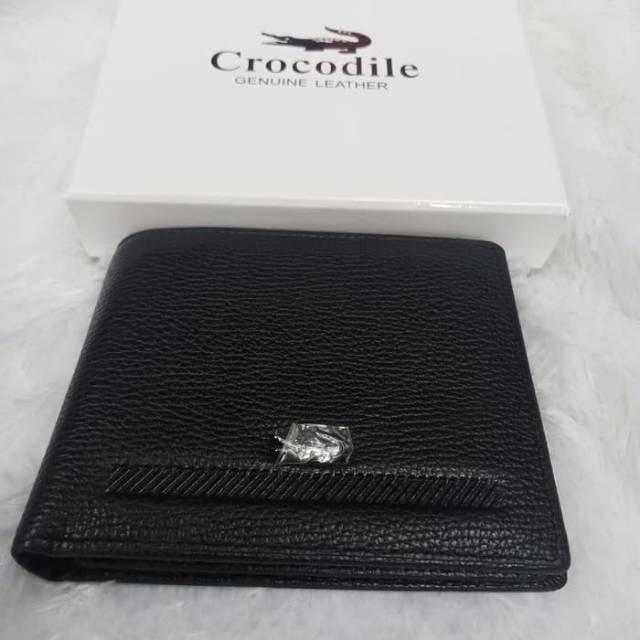 กระเป๋าสตางค์หนังจระเข้ Cro Codile