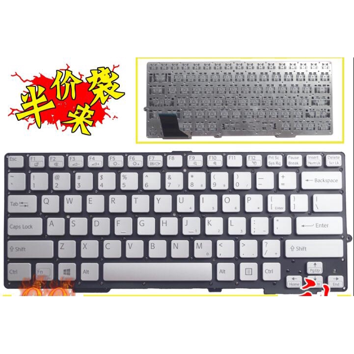 NEW FOR SONY PCG-31311L PCG-31311T PCG-31311M PCG-31311W keyboard  US English