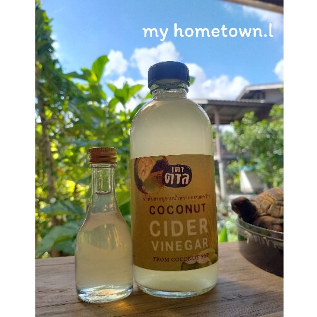 Ccv coconut cider vinegar IF keto diet น้ำส้มสายชูหมักจากดอกมะพร้าว แท้100% จากสวนข