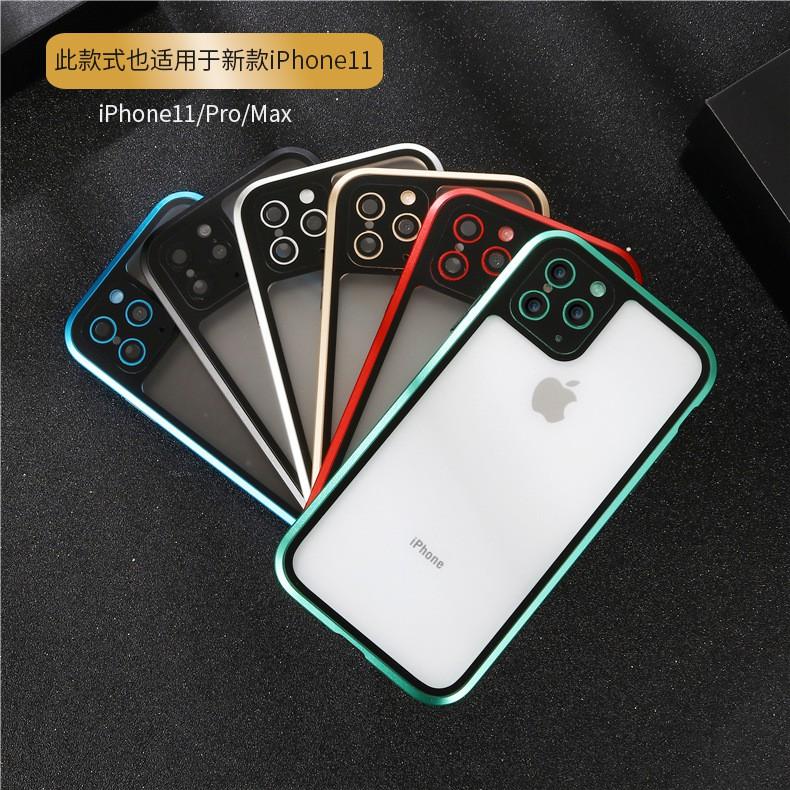( Spot ) เคสโทรศัพท์มือถือแบบสองด้านสําหรับ Iphone11Pro Max Xs