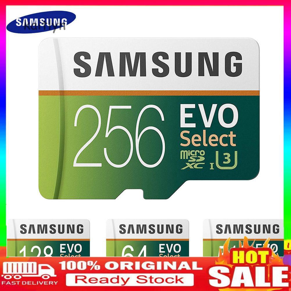 - Samsung Evo 64 G / 128 G / 256 G / 512 G / 1 T Tf การ์ดหน่วยความจําสําหรับแท็บเล็ตโทรศัพท์กล้อง
