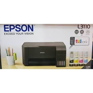 Epson  L3110 All-in-One I(ฟรีหมึกพรีเมี่ยม)  BCMY