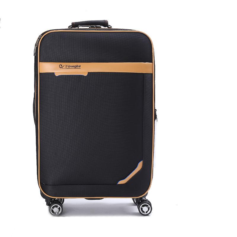 กระเป๋าเดินทางกระเป๋าเดินทางชายและหญิงนักเรียนฟอร์ดผ้ารถเข็นกล่อง26-นิ้ว24นิ้วกระเป๋าเดินทางlockbox28-กระเป๋าเดินทางขนาด