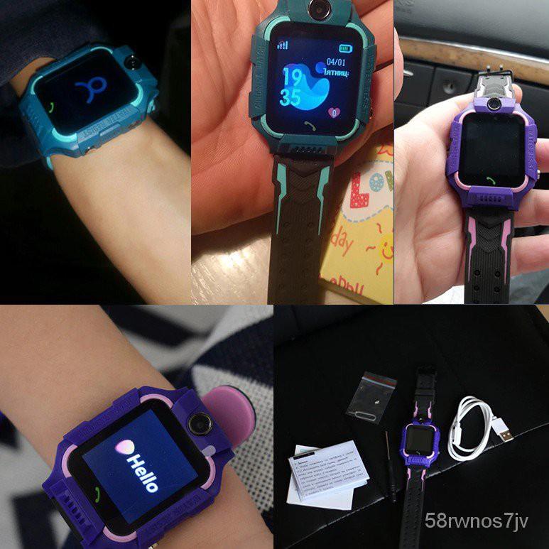 นาฬิกาไอโม่ ilu[เนนูภาษาไทย] Z6 นาฬิกาเด็ก Q88s นาฬืกาเด็ก smartwatch สมาร์ทวอทช์ ติดตามตำแหน่ง คล้าย imoo ไอโม่ ยกได้ ห