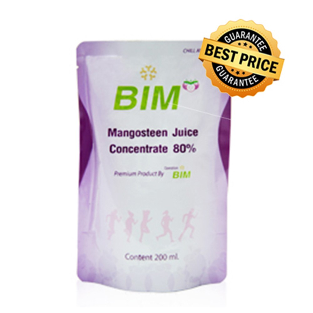 BIM น้ำมังคุด 200ml. (15ซอง)   APCO Bim100