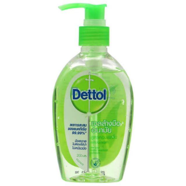 Dettol เจลล้างมือ hand gel 200 ml 1 ขวด
