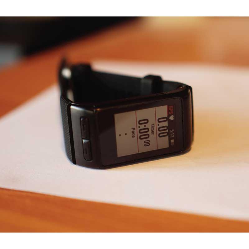(มือสอง) นาฬิกาวิ่ง Garmin VivoactiveHR สภาพ90% เครื่องนอก