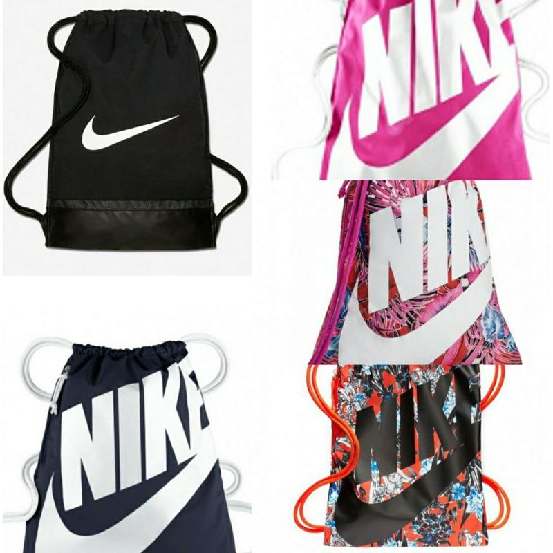 [ลิขสิทธิ์ แท้] NIKE/ Adidas Sack กระเป๋า เป้ หูรูด กระเป๋าผ้า กระเป๋าสะพาย กระเป๋าเดินทาง