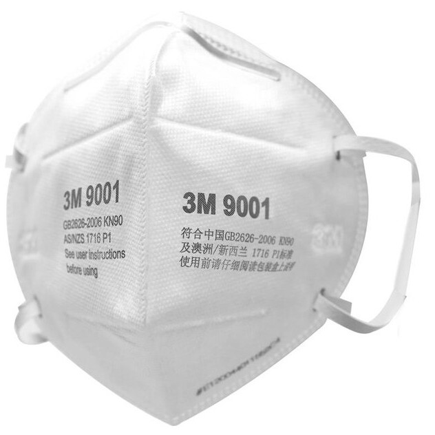 3M หน้ากากกันฝุ่น คาดศรีษะ VFLEX N95 รุ่น  9105, 8210, 8210V, 9001 vNQ3