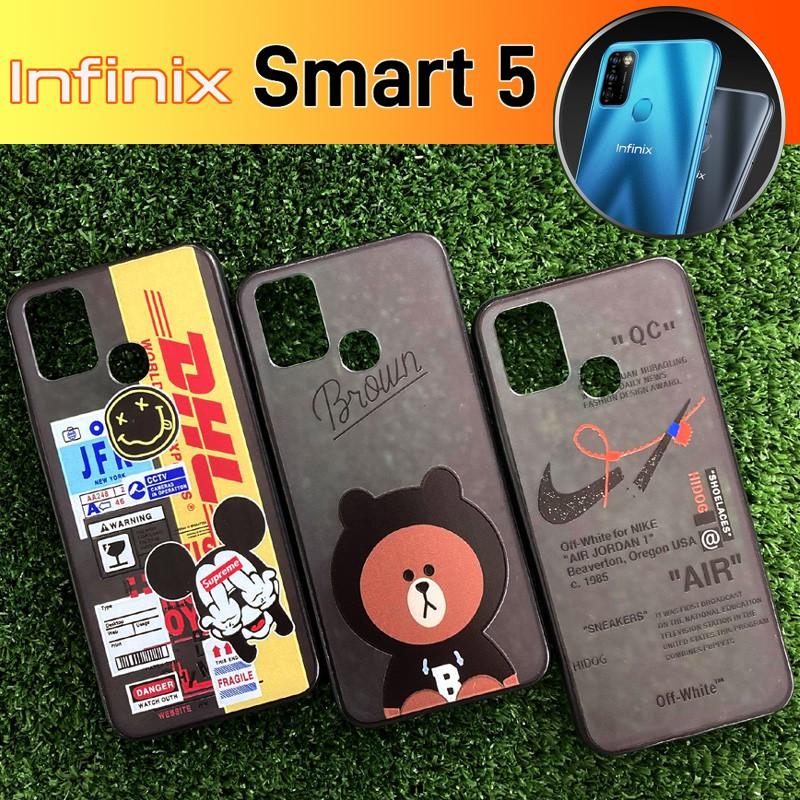 เคส ขอบยาง TPU 3D Pattern Case สำหรับ Infinix Smart 5