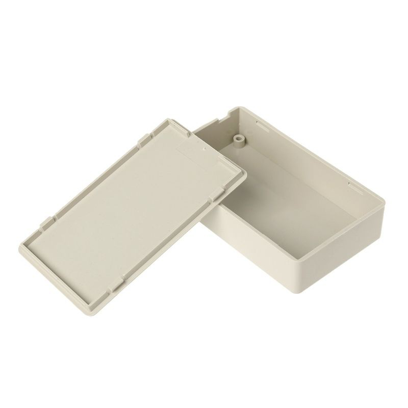 """3.34/""""L x 1.96/""""W x 0.83/""""H Plastic Electronics Project Box Enclosure Case DIY"""