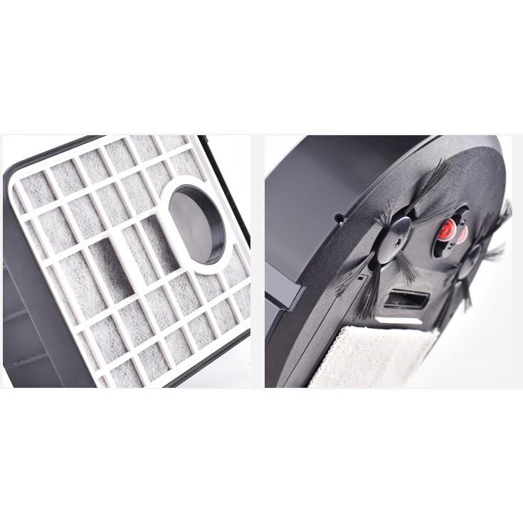 พร้อมส่งa☸Jallen Gabor หุ่นยนต์ดูดฝุ่น กวาด ดูด ฝุ่น อัตโนมัติ สินค้าจำนวนจำกัด สนใจสั่งซื้อได้เลย 5DId