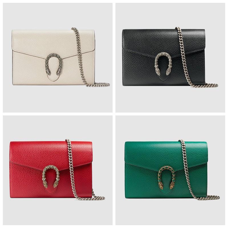 กระเป่า Gucci / New / Dionysus Series Chain Leather Mini Handbag / ของแท้ 100% / 20CM (จัดส่งฟรี)
