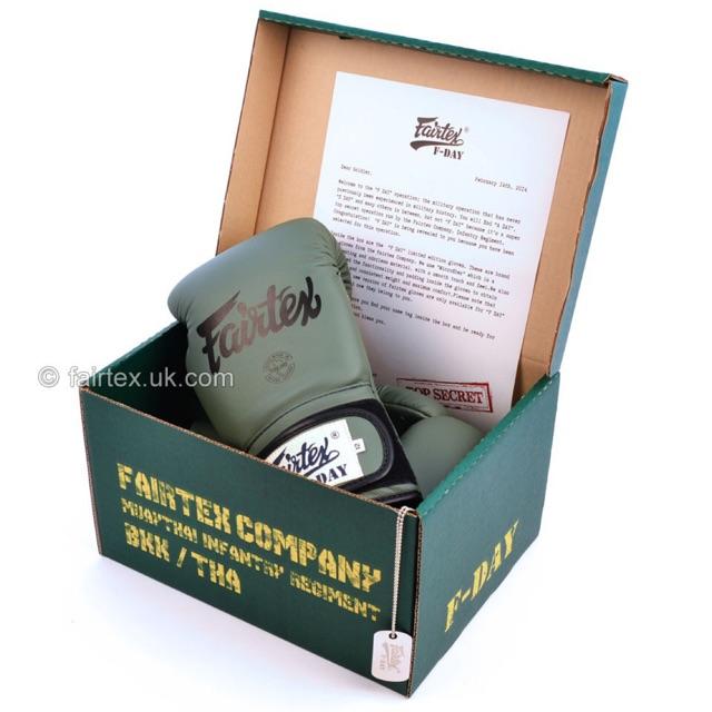 "Limited Edition! นวมชกมวย Fairtex ลาย F-Day / Fairtex BGV11 ""F Day"" Limited Edition Gloves"
