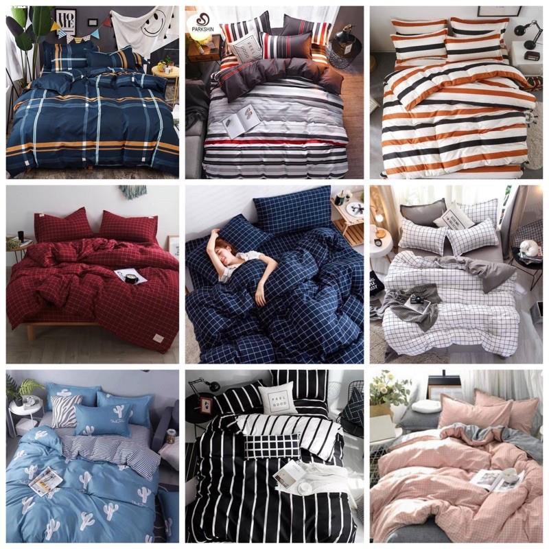 ที่นอน topper✑ชุดผ้าปูที่นอน/ชุดเครื่องนอนครบชุด/ชุดผ้านวม3.5ฟุต,5ฟุต,6ฟุต
