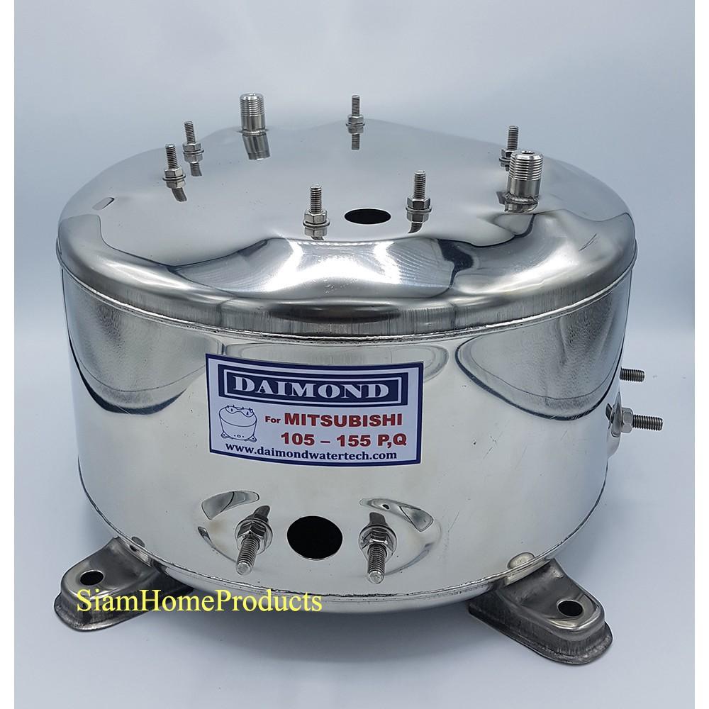 PPPP Shop อุปกรณ์ซ่อมแซมบ้าน Mitsubishi ถังปั๊มน้ำสแตนเลส (อย่างหนา) WP85-155P,Q,Q2,Q3,QS,Q5 เครื่องมือปรับปรุงบ้าน