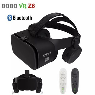 แท้100%สินค้าพร้อมส่ง BOBO VR Z6 Bluetooth VR Virtual Reality Headset 3D Glasses VR Glasses