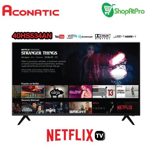 ACONATIC TV สมาร์ท ทีวี 40 นิ้ว รุ่น 40HS534AN NETFIX TV