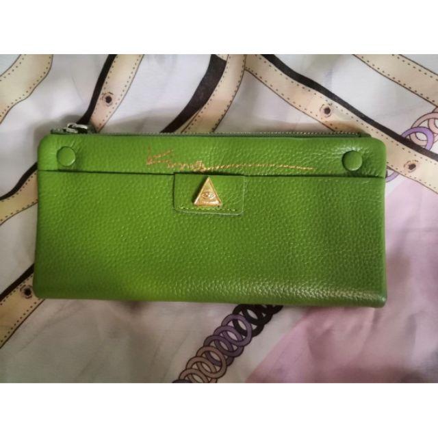 กระเป๋าเศรษฐีคุณกิ่งบุญมณีสีเขียว