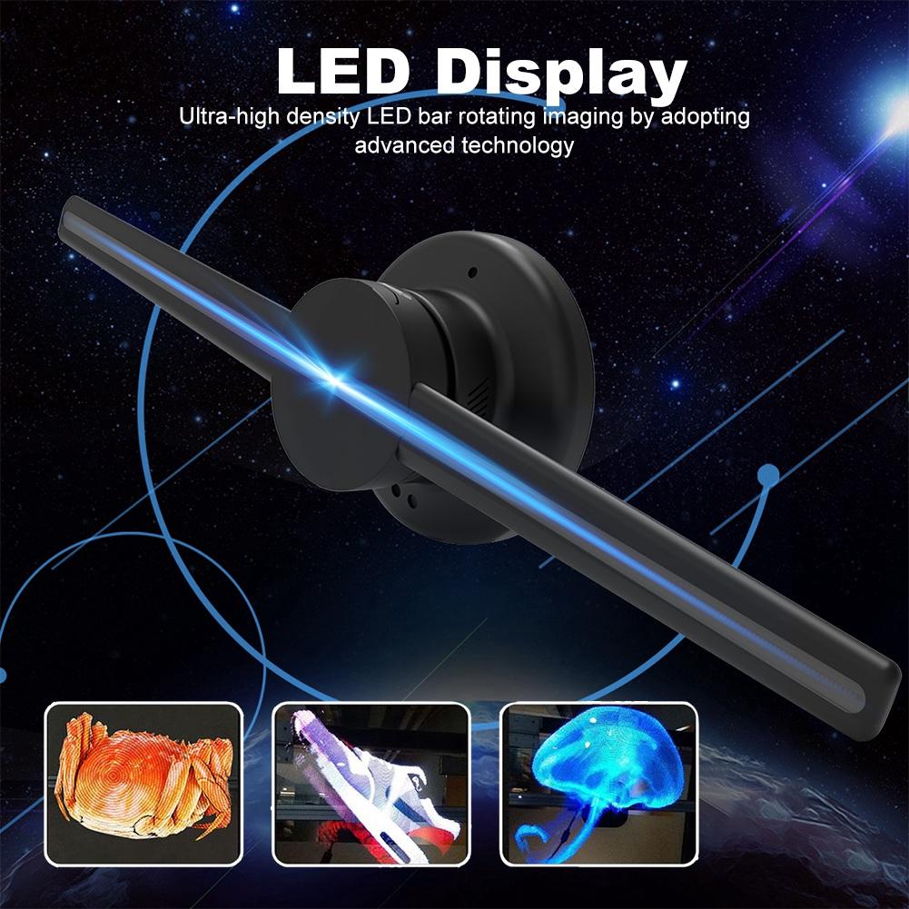 โปรเจคเตอร์โฮโลแกรม 3 D จอแสดงผล Led Exhibition 100-240 V