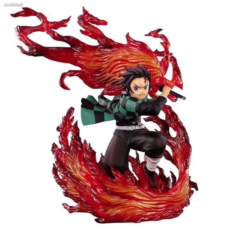 ใหม่◘❅▤ฟิกเกอร์ Demon Slayer s Blade Figure Figuarts ZERO Demon Slayer Team Kizuna Anime Collection Model