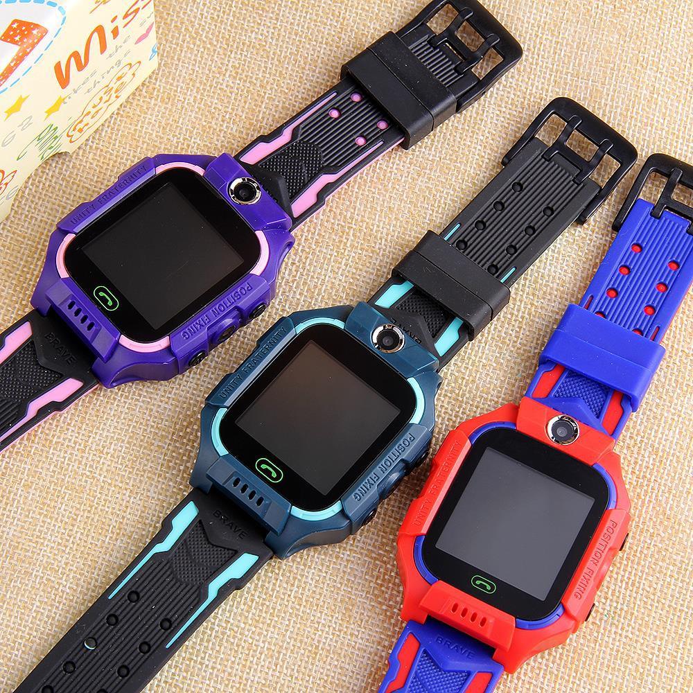 นาฬิกาเด็ก รุ่น Q19 เมนูไทย ใส่ซิมได้ โทรได้ พร้อมระบบ GPS ติดตามตำแหน่ง Kid Smart Watch นาฬิกาป้องกันเด็กหาย ไอโม่ imoo