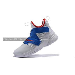 best cheap 7d886 debcc Nike Lebron Soldier 12 XII รองเท้าบาสเก็ตบอลขนาด 40-46