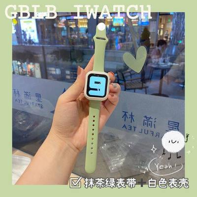 สายนาฬิกาอัจฉริยะ สาย applewatch สายนาฬิกา สายนาฬิกา applewatch Applicable apple watch tape 6 small waist + shell Apple