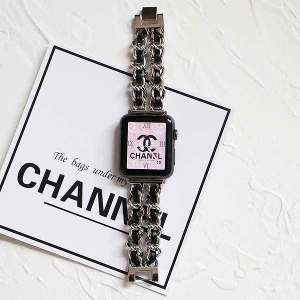 สาย applewatch สายรัดสร้างสรรค์กลิ่นหอมขนาดเล็กของ Applewatch iwatch6 / 5/4/3 / สายรัด Apple watch se