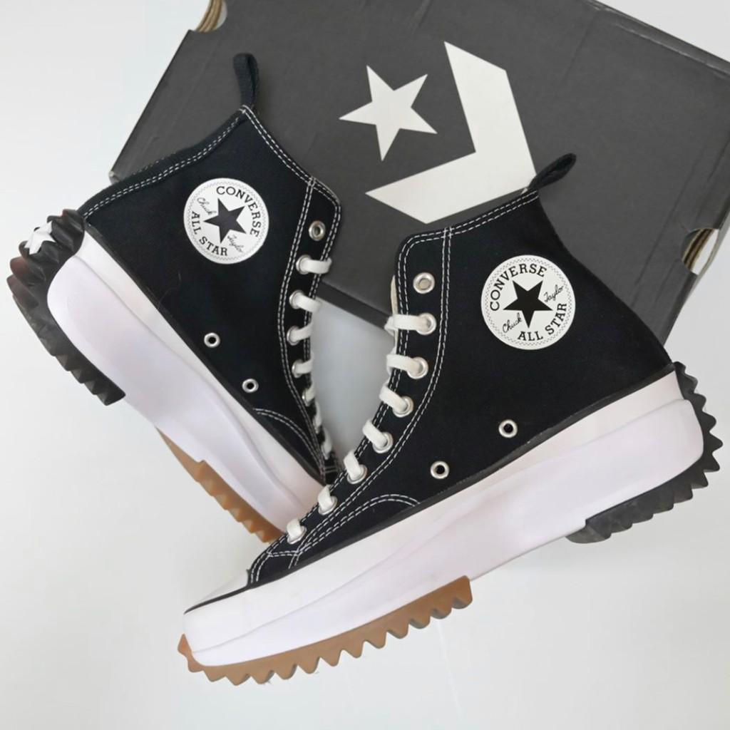 Converse run star hike สีดำ