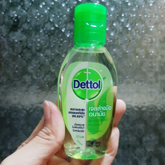 เจลล้างมืออนามัย เดทตอล