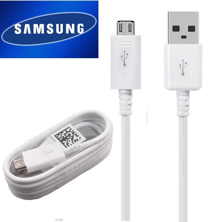 สายชาร์จ Samsung S6 Note5 S7/J7/J7 Pro/A5/J2Prime J7Prime J2 J1 J4 J6 ของเเท้แกะเครื่อง หัวUSB MICRO .รับประกัน 1 ปี .