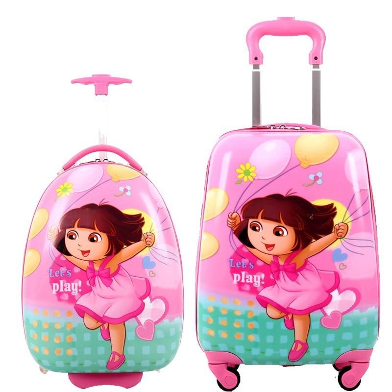 ◇กระเป๋าเดินทางเจ้าหญิง กระเป๋าเดินทางเด็กผู้หญิง ขนาด 16 นิ้ว น่ารัก กระเป๋าเดินทางสำหรับเด็ก เด็ก เด็ก เดินทาง