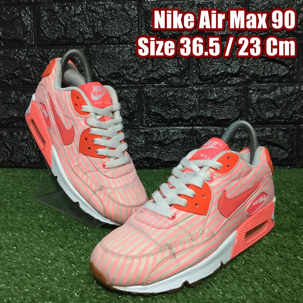 Nike Air Max 90 รองเท้าผ้าใบมือสอง Size 36.5 / 23 Cm