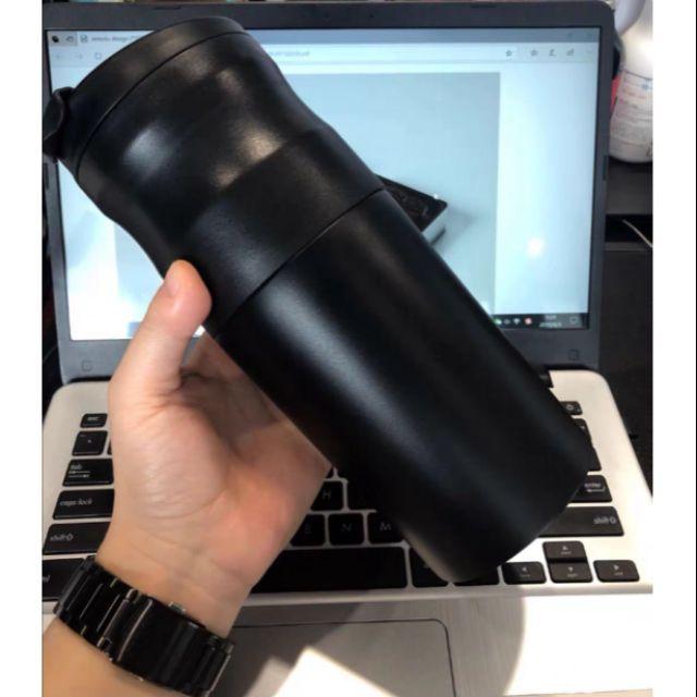 เครื่องทำกาแฟแบบพกพาพร้อมฟังก์ชั่นปอกและกรองเมล็ดกาแฟพร้อมดื่ม