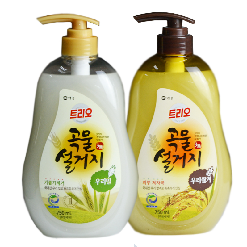 ▲เกาหลีของแท้อคยงลูน่าธรรมชาติธัญพืชผงซักฟอก